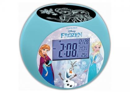 Часы  Проектор Холодное Сердце Lexibook
