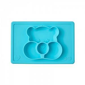 Силиконовая тарелка-плейсмат Happy Mat Care Bear Edition Ezpz