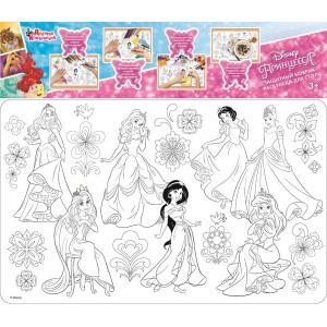 Защитный коврик-раскраска для стола  «Принцесса» Дисней Десятое Королевство