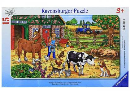 Пазл  На деревенском дворе Ravensburger