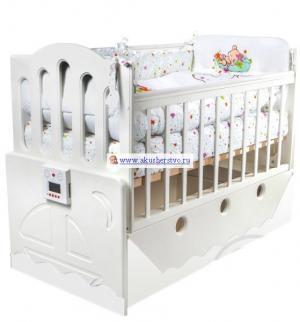 Детская кроватка  Укачай-ка 03 поперечный маятник Daka Baby