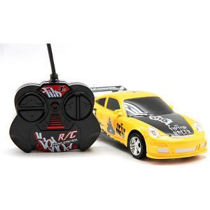 Машина на радиоуправлении  Автомобиль 1:24, желтая Balbi. Цвет: разноцветный