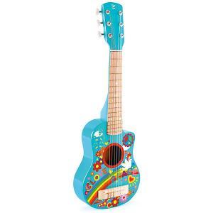 Гитара  Цветы Hape. Цвет: разноцветный