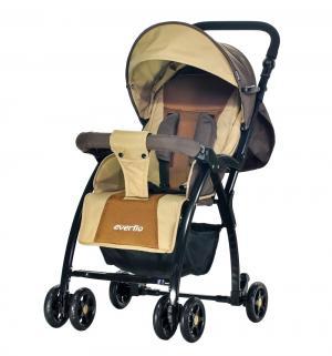 Прогулочная коляска  Cricket Е-219, цвет: brown Everflo
