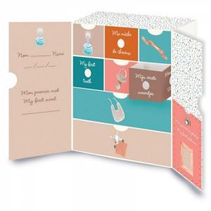 Коробка Mia & Basile Кролик и Мишка для сокровищ Nattou