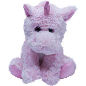 Мягкая игрушка  Единорог, сидящий, 22 см Teddykompaniet. Цвет: розовый