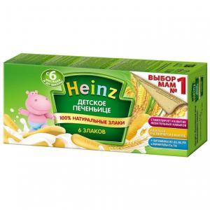 Печенье  6 Злаков, 160 г Heinz