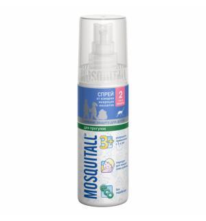 Спрей Нежная защита от комаров, 100 мл Mosquitall
