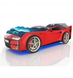 Кровать-машинка  Kiddy, цвет: красный Romack