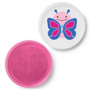 Набор из 2 тарелок Бабочка Skip-Hop