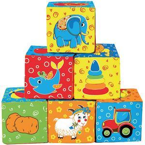 Первые кубики для малышей Мой маленький мир Macik