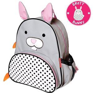 Рюкзак детский  Zoo Pack Зайка Skip Hop. Цвет: серый