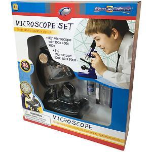 Микроскоп , 36 предметов, черный Eastcolight