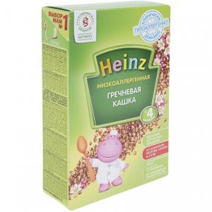 Каша  безмолочная гречневая с 4 месяцев 200 г Heinz