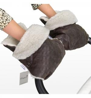 Муфта-рукавички  Karolina, цвет: brown Esspero