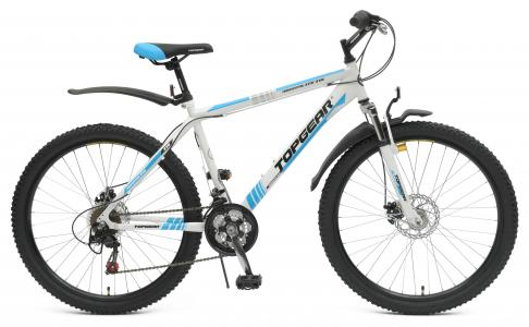 Велосипед  Adrenaline 215, цвет: белый/голубой Top Gear