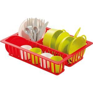 Набор посуды Ecoiffier в сушилке écoiffier