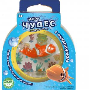 Рыбка –акробат Лаки с аквариумом, Море чудес