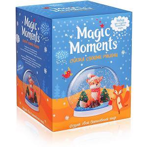 Набор для творчества  Создай Волшебный шар Зимний лес Magic Moments