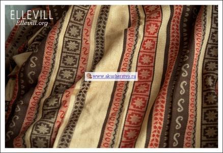 Слинг  Zara Tricolor шарф, хлопок Ellevill