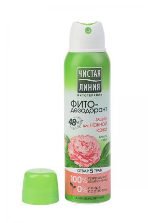 Дезодорант-спрей  Защита для нежной кожи, 150 мл Чистая линия