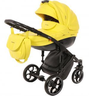Коляска 3 в 1  Mod + Муфта подарок, цвет: желтый Mr Sandman