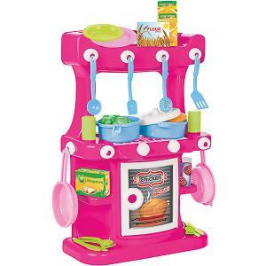 Игровой набор  Kitchen Set Кухонный, розовый Pilsan. Цвет: розовый