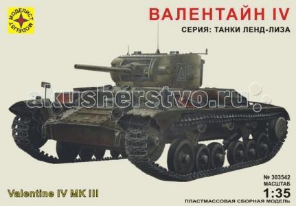 Модель танк Валентайн IV Моделист