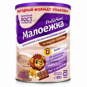 Смесь  «Малоежка» для диетического питания со вкусом шоколада, 850 г PediaSure