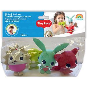 Набор игрушек пищалок для ванны Tiny Love. Цвет: разноцветный