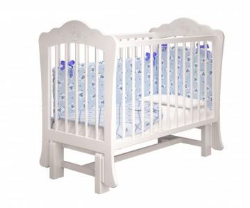 Детская кроватка  Амалия-2 без ящика с маятником Милано Можгинский лесокомбинат