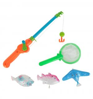 Игровой набор  Рыбалка (зеленый сачок) Игруша