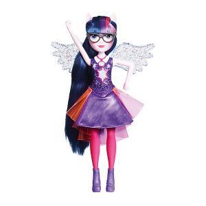 Интерактивная кукла Equestria Girls Дружба энергии Твайлайт Спаркл (Искорка) Hasbro
