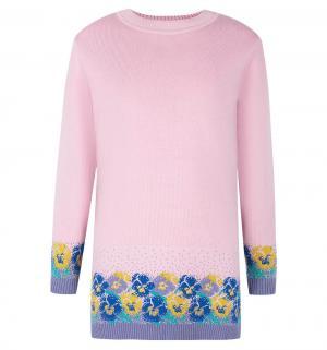 Платье  Незабудки, цвет: розовый Free Age