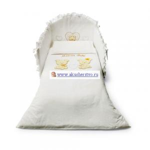Комплект в кроватку  Smart Maison Bebe (5 предметов) Pali
