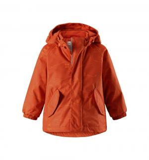 Куртка  Tec Olki, цвет: оранжевый Reima