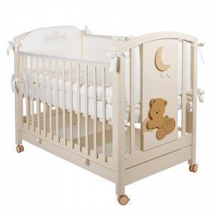 Детская кроватка  Babi колесо качалка MIBB