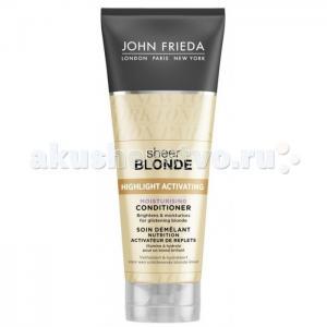 Sheer Blonde Кондиционер увлажняющий активирующий для светлых волос 250 мл John Frieda