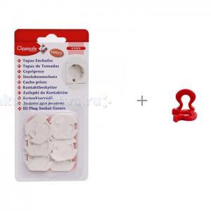 Защита для розеток с набором подков безопасности Baby Safety Clippasafe