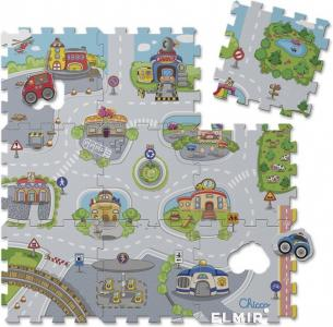 Игровой коврик  Коврик-пазл Город Chicco