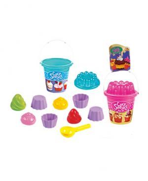 Набор из 11 предметов для песка Пирожное Baby Trend