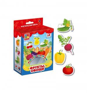 Настольная игра  Мой маленький мир Овощи-фрукты Vladi Toys