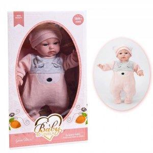 Кукла Baby So Lovely пупс в костюмчике и шапочке 35 см 1909-3 Junfa