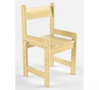Русские-Игрушки Растущий стул деревянный не окрашен Русские игрушки