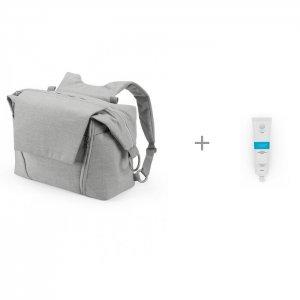 Сумка для мамы Changing Bag V2 и Дезснаб Дезинфицирующий гель рук Дезактив 50 мл Stokke