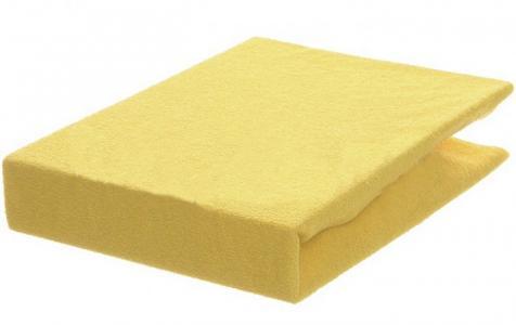 Простынь на резинке махровая 140х70 см Odenwalder