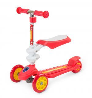 Самокат  Galaxy Seat, цвет: красный Small Rider