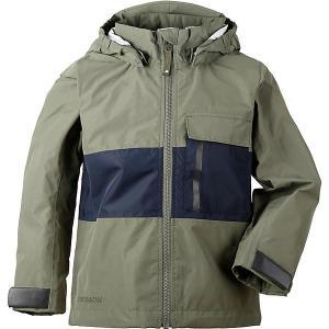 Куртка Didriksons Igelkotten. Цвет: оливковый