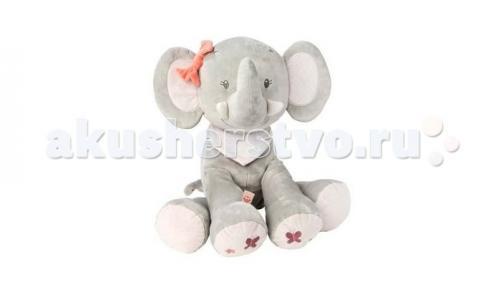 Мягкая игрушка  Soft toy Adele & Valentine Слоник 75 см Nattou