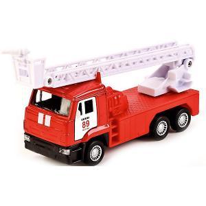 Коллекционная машинка Технопарк Камаз Пожарная машина, 12 см